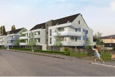 Construction de logements collectifs à Saverne