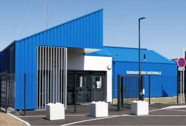 Nouvelle caserne de Gendarmerie à Raon l'Étape