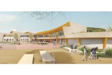 Nouvelle école élémentaire Libermann à Illkirch