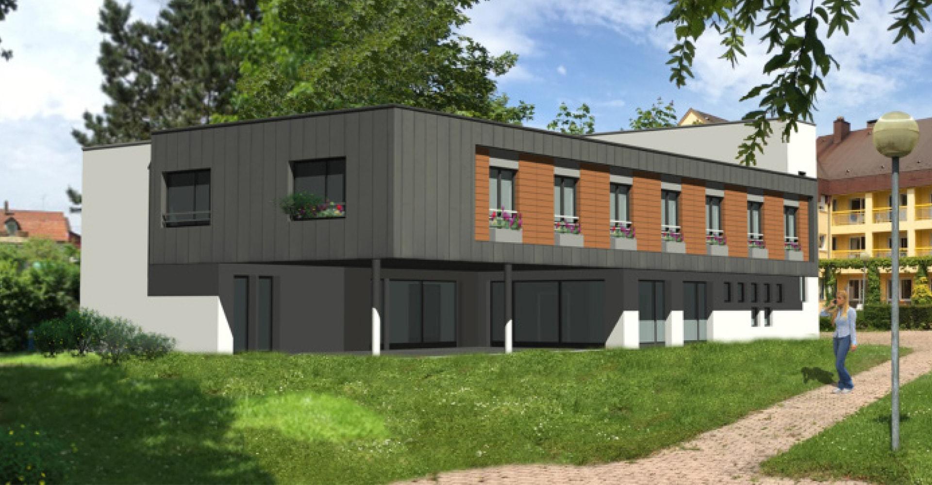 Construction d'un PASA de 12 chambres